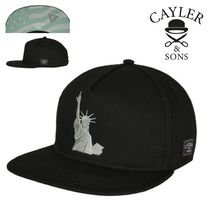 CAYLER&SONS(ケイラーアンドサンズ) キャップ SALE★Wl NY Salute Cap【送込Cayler&Sons】自由の女神/星条旗黒