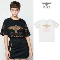 BOYLONDON★EAGLE REPEAT T-SHIRT - B02TS1013U
