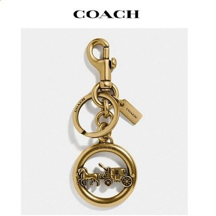 2020 NEW♪ COACH ◆ horse and carriage pendant bag charm