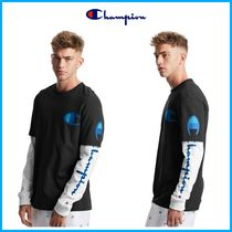 2020SS新作!! ☆ Champion☆ Jersey 2-Fer Long-Sleeve Tee