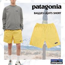 new!!PATAGONIA BAGGIES LIGHTS SHORT-SURFBOARD YELLOW