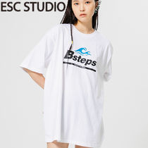★ESCSTUDIO★Bstep t-shirt (white)★正規品/韓国送料込