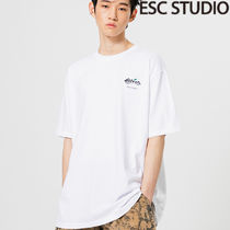 ★ESCSTUDIO★Bstep back printing t-shirt (white)正規品/送込