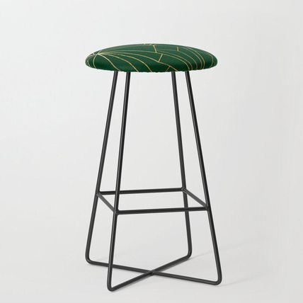 Society6 椅子・チェア 日本未入荷・送料無料 Art Deco in Gold & Green - Large Scale(2)