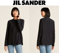 [関税・送料込] JIL SANDER☆Silk Double Placket Shirt