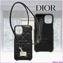 【20SS NEW】Dior_women/LADY DIOR COVER FOR IPHONE 11 PRO