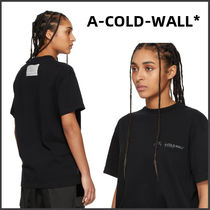 A-COLD-WALL(アコールドウォール) Tシャツ・カットソー 【A-COLD-WALL*】ブラック ロゴ T シャツ