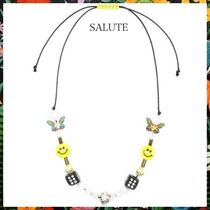 SALUTE☆サルーテ EVAE+ SMILEY PEARL NECKLACE ネックレス