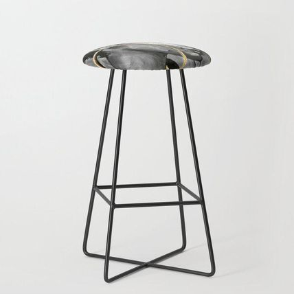 Society6 椅子・チェア 日本未入荷・送料無料 Naturally Queen X Bar Stool(2)