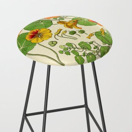 Society6 椅子・チェア 日本未入荷・送料無料 French botanical flower plate - Maurice