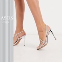 ASOS DESIGN Notorious strappy heeled sandals