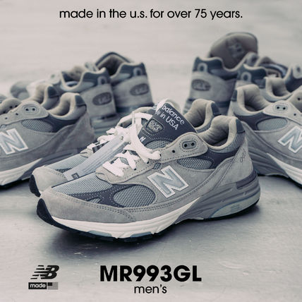 New Balance 993 Made in US Gray