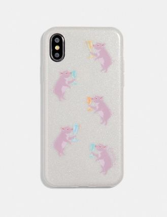 Coach スマホケース・テックアクセサリー 【COACH】Iphone X/Xs Case With Party Pig Print(2)