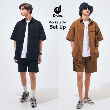 dyclez セットアップ Dyclez正規品★20SS★全5色★ポケッタブルセットアップ