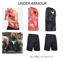 ★UNDER ARMOUR★プロジェクトロックタンク&ショーツセット