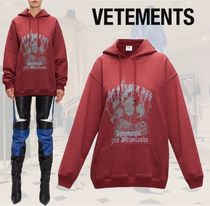 SALE☆**VETEMENTS**ヴェトモン**The Pirate Bay-printパーカー