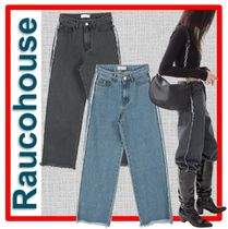 ☆韓国の人気☆【Raucohouse】☆VINTAGE LINE DENIM PANTS☆2色