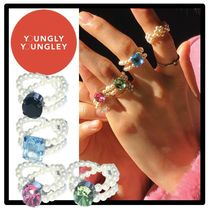 yOungly yOungley(ヨンリヨンリ) 指輪・リング ★関税込★yOungly yOungley★Go-go pearl ring★ビーズリング