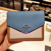 [COACH] 折りたたみ財布♪ Small Wallet In Colorblock