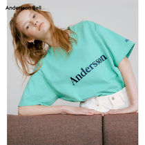 ANDERSSON BELL(アンダースンベル) Tシャツ・カットソー ANDERSSON BELL正規品★刺繍ロゴTシャツ★Wコンセプトコラボ