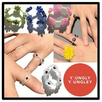 yOungly yOungley(ヨンリヨンリ) 指輪・リング ★人気★関税込★yOungly yOungley★Mama rings★ビーズリング