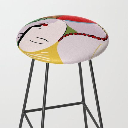 Society6 椅子・チェア 日本未入荷・送料無料 Picasso - The Dream Bar Stool