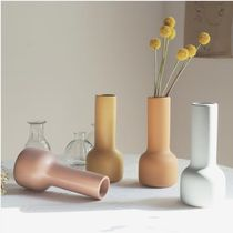 【carda】Modern color pottery vase spring collection