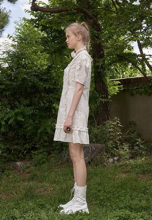 VITAL SIGN ワンピース 韓国発☆Puffy Strappy Embroidered Dress 2/VITALSIGN(11)