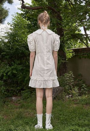 VITAL SIGN ワンピース 韓国発☆Puffy Strappy Embroidered Dress 2/VITALSIGN(12)