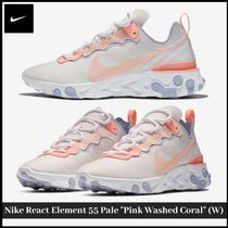 """【NIKE】Nike React Element 55 Pale """"Pink Washed Coral"""" (W)"""