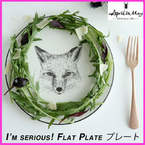 ☆April in May☆I'm serious! Flat Plate キツネ プレート☆