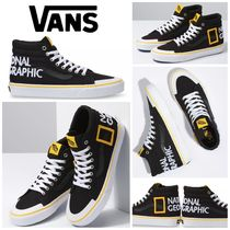 【Vans】☆日本未入荷☆NATIONAL GEOGRAPHIC SK8-HI REISSUE 138