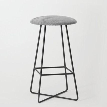Society6 椅子・チェア 日本未入荷・送料無料 Simply Concrete Bar Stool(2)