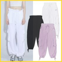 SCULPTOR ★ High Waist Linen Jogger Pants  ★ ジョガーパンツ