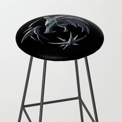 Society6 椅子・チェア 日本未入荷・送料無料 The Witcher Logo Bar Stool