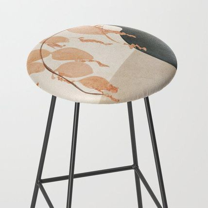 Society6 椅子・チェア 日本未入荷・送料無料 Branches in the Vase Bar Stool