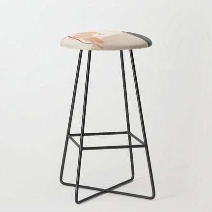 Society6 椅子・チェア 日本未入荷・送料無料 Branches in the Vase Bar Stool(2)