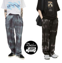 Raucohouse SILKY DYEING WIDE PANTS JH306 追跡付