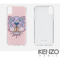 KENZO☆国内発送/Tiger iPhone case 7/8/X☆S