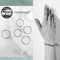 ONE ENOUGH Wave Ring Set BBN1144 追跡付