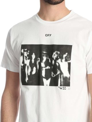 Off-White Tシャツ・カットソー 入手困難 人気 OFF-WHITE SPRAY PAINTING Tシャツ 送関込み(4)