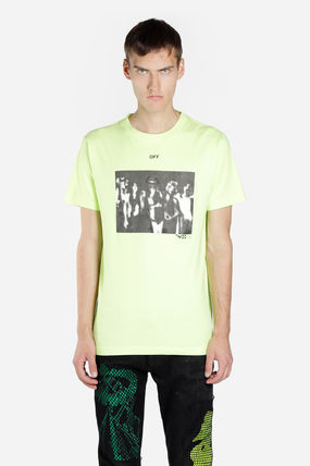 Off-White Tシャツ・カットソー 入手困難 人気 OFF-WHITE SPRAY PAINTING Tシャツ 送関込み(5)