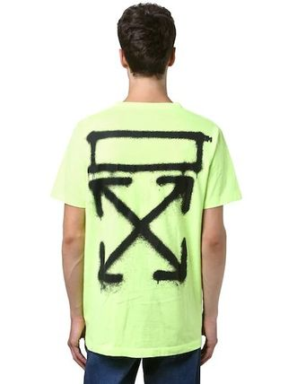 Off-White Tシャツ・カットソー 入手困難 人気 OFF-WHITE SPRAY PAINTING Tシャツ 送関込み(6)