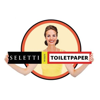 SELETTI ミラー・姿見 国内発| SELETTI TOILETPAPER Hands with Snakes ゴールドミラー(5)