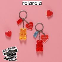 【ROLAROLA X HARIBO】JELLY KEY RING 全2色