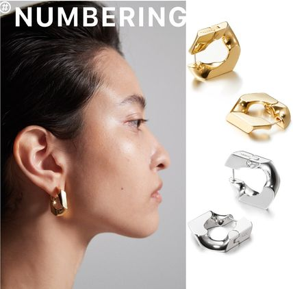 Numbering ピアス 正規品★NUMBERING★Single Chain Unit Earrings ピアス/追跡付