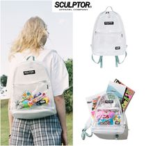 【SCULPTOR】PVC Backpack クリアバック
