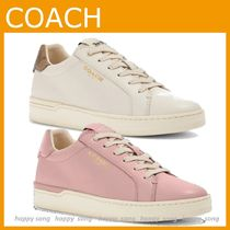 COACH◆レザー Clip Low Top スニーカー◆sale