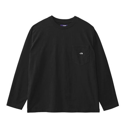 THE NORTH FACE Tシャツ・カットソー 国内発◆THE NORTH FACE PURPLE LABEL 7OZ L/S POCKET 定番T(4)