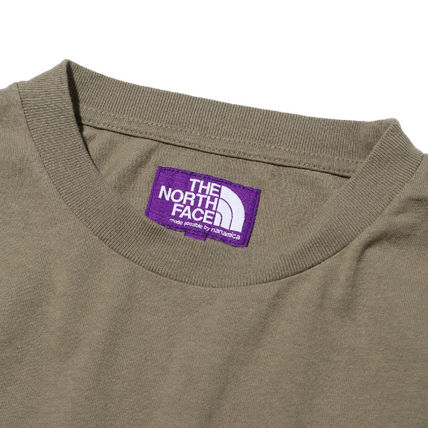 THE NORTH FACE Tシャツ・カットソー 国内発◆THE NORTH FACE PURPLE LABEL 7OZ L/S POCKET 定番T(8)